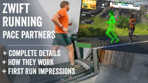 First Impressions: Zwift's New Running Pace Partners