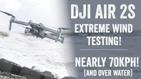 DJI Air 2S: Extreme Wind Test!