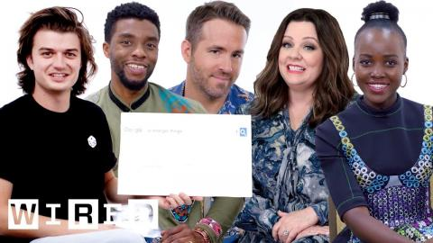 The Best of Autocomplete: Funniest Moments from the Cast of Stranger Things, Black Panther and More