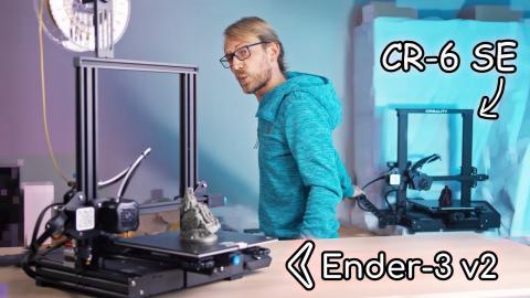 Why you should get the Ender-3 v2 instead of the CR-6 SE!
