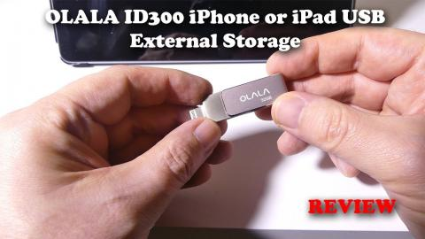 OLALA ID300 USB External Storage for iPhone and iPad REVIEW