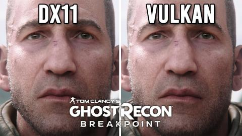 Ghost Recon Breakpoint Vulkan vs DX11 Performance Analysis