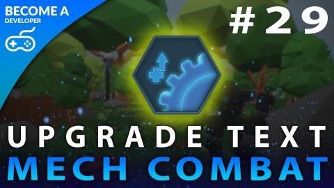 Upgrade Bench Text - #29 Creating A Mech Combat Game with Unreal Engine 4