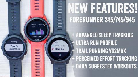 Quick Tips: Garmin Forerunner 245/745/945 New Feature Explainer