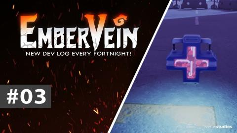 Initial prototype, pickups and controllers! - EmberVein Dev Log #3