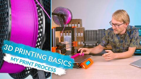 3D Printing Basics - What Printing actually looks like! (Ep7)
