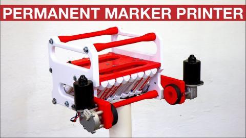 PERMANENT MARKER PRINTER I