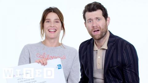 Billy Eichner & Cobie Smulders Answer the Web's Most Searched Questions   WIRED