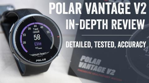 Polar Vantage V2 Review: 9 New Things To Know // Accuracy Testing & More