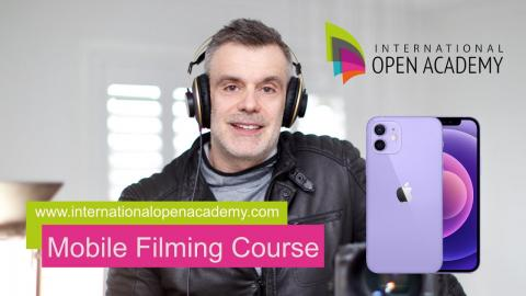 MY MOBILE FILMING COURSE IS OUT NOW!!