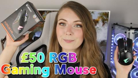 Gigabyte Aorus M5 Gaming Mouse Review - GREAT Mouse, BAD Software!