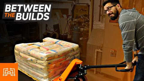 We Don't Need A Pallet Jack // Between the Builds