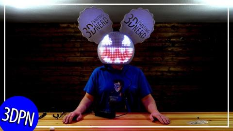3D Printed DEADMAU5 Helmet AND the #MRRF2019 Wrap UP