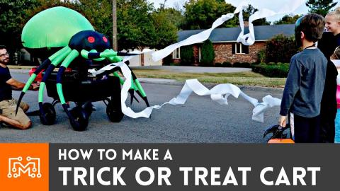 How to Make a Trick or Treat Cart for Halloween