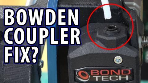 Bondtech Bowden PTFE Coupler Fails - Here Is My Fix