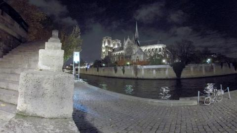GoPro Fusion 360* 5.2K Night Sample Footage