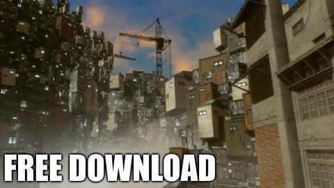 Soul City (Free Download / Speed Level Design / Unreal Engine 4)