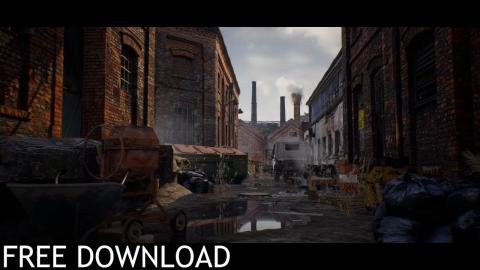 Abandoned Factory  (Free Download / Unreal Engine 4)