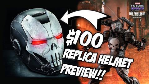 $100 Punisher Ironman Helmet ANNOUNCEMENT! Marvel Legends Series Replica Props