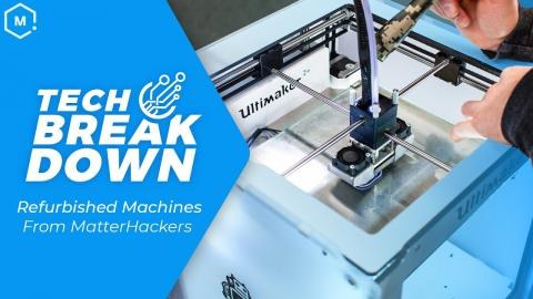 Tech Breakdown: Refurbished 3D Printers and Digital Manufacturing Machines