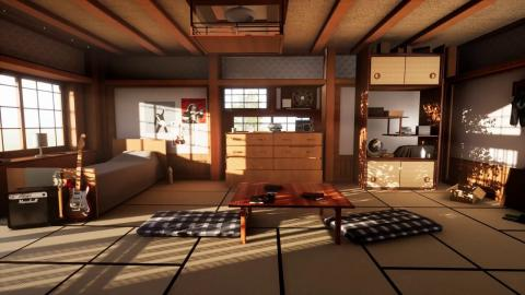 3D Environment Art | Japanese Room | Unreal Engine 4
