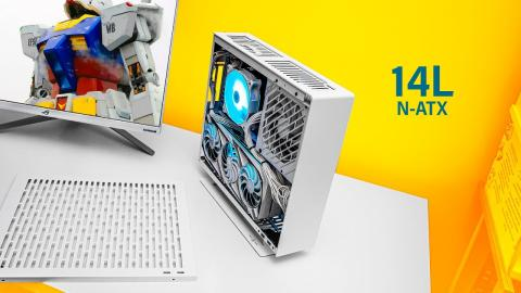 A TINY ATX Case with NO Compromises!