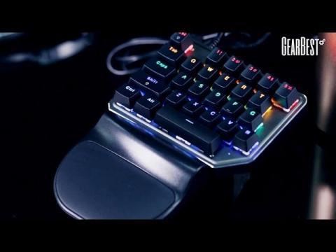 Singlehanded Mechanical Keyboard - GearBest