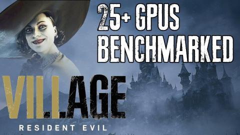 Resident Evil Village GPU Benchmark + Ray Tracing Analysis