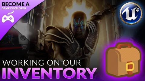 Displaying Inventory - #39 Creating A Role Playing Game With Unreal Engine 4