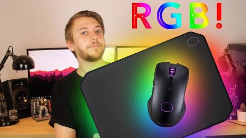Cooler Master CM310 Mouse and MP860 RGB MousePad Review