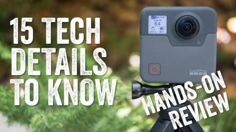 GoPro Fusion Review: 15 Tech Things to Know!
