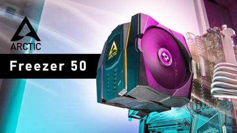 This CPU Cooler is SO GOOD - Arctic Freezer 50 Review
