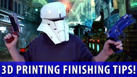3 Finishing Tips and Tricks featuring Punished Props