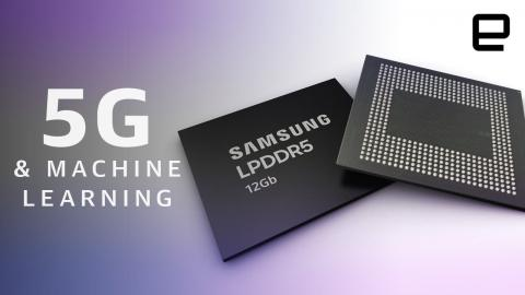 Samsung's next-gen RAM is built for 5G and AI