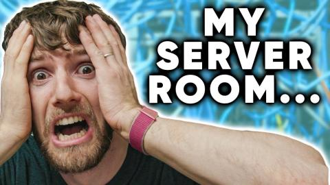 My Home Server Room is a MESS...