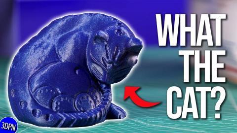 Anycubic Vyper Cat Print + 3D Printed Samus Aran SENT TO ME! // Fan Mail Friday