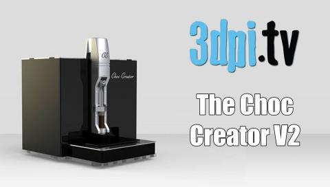 Choc Edge's 2nd Gen Chocolate 3D Printer