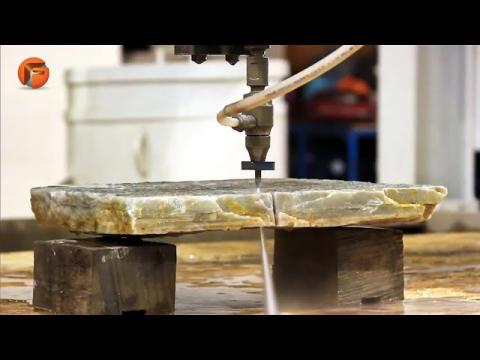 Powerful Stone Cutting Machines. Extreme Rock Splitting Techniques