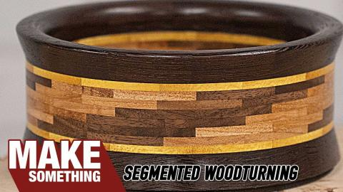 """""""Turns"""" Out Segmented Woodturning Aint So Hard."""