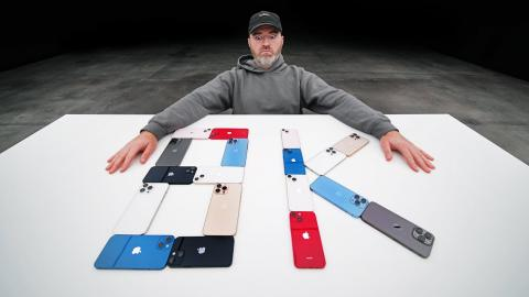 Unboxing EVERY iPhone 13, iPhone 13 Pro, iPhone 13 Pro Max and iPhone 13 Mini