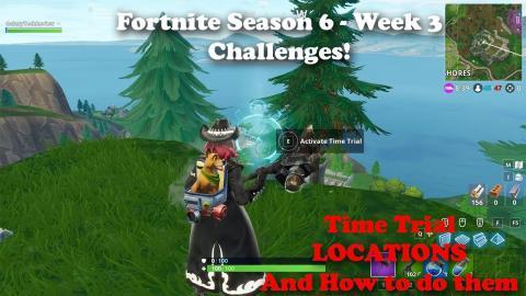 Fortnite All Shooting Gallery Locations Season 6 Week 4 Challenge