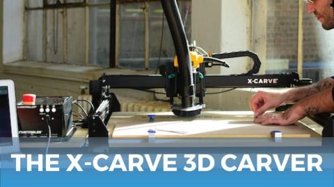 Inventables X-Carve 3D Carver // Product Highlights