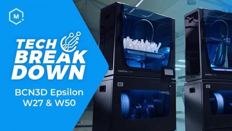 Tech Breakdown: BCN3D Epsilon 3D Printers