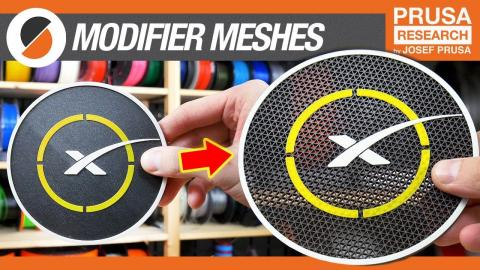 """""""Modeling"""" with PrusaSlicer? - Modifier meshes tutorial"""