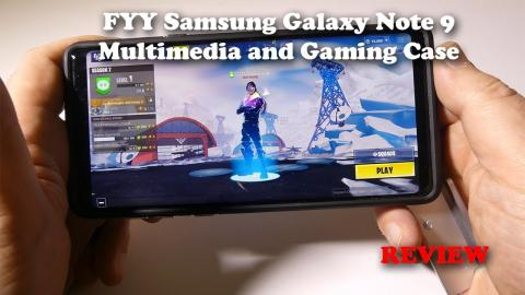 FYY Gaming Phone Case for the Samsung Galaxy Note 9 - ONLY 7$ -  Is it any good?