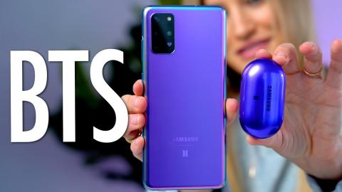 ???? Unboxing The BTS Samsung Galaxy S20+ 5G Phone ????