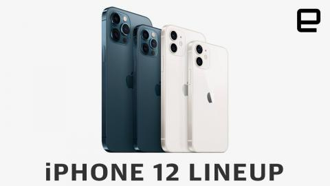 Apple iPhone 12 lineup comparison