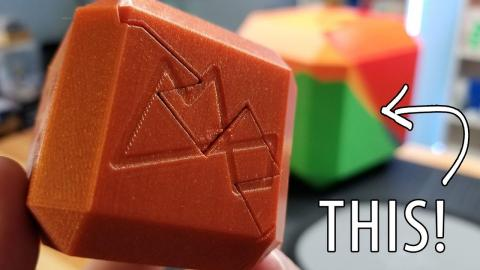 3D Printing the Maker's Muse Puzzle Cube REALLY BIG!