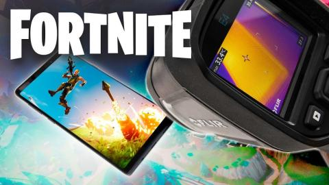 Galaxy Note 9 vs FORTNITE & PUBG - Does It Overheat?