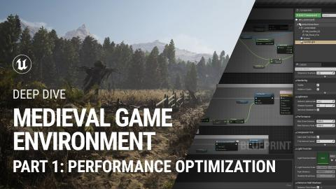 Performance Optimization: Medieval Game Environment extended tutorial